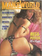 MANS WORLD  Nr.3-Mai/Juni 1990 - Vintage Farbfoto-Magazin