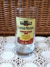 "CAPTAIN MORGAN Puerto Rican Rico Rum Drinking Glass Tumbler 6.25"" (6 1/4"") Tall"