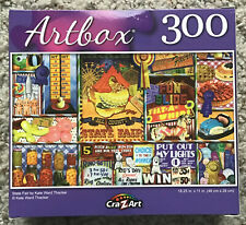 State Fair 300 Piece Jigsaw Puzzle by Artbox by Kate Ward Thacker Kewpie Ribbons