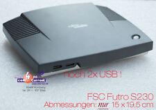 THINCLIENT MINIPC FSC FUTRO A230 TR2350 S26361K525V230 GIGABIT LAN RS232 USB MM
