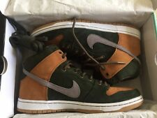 "NIKE SB DUNK HIGH PREMIUM HG QS ""HOMEGROWN"" LIMITED SZ 11 [839693-302]"