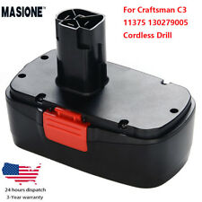 New Battery for Craftsman C3 19.2 Volt 11375 130279005 Cordless Drill Ni-CD