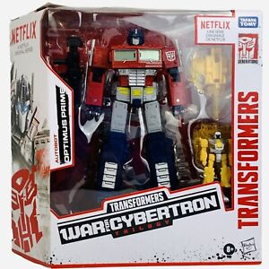 Transformers War For Cybertron Trilogy Netflix Optimus Prime Hasbro Figure