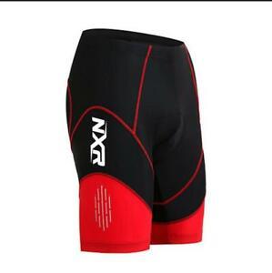 Padded Cycling Shorts Gel Ladies Men Bicycle Bike Pants Underwear Trousers Short