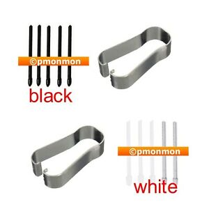 Replacement Stylus S Pen Tips Nibs for Samsung Galaxy Note 5 N920 Black White