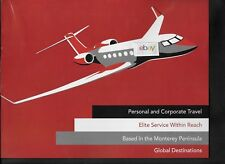 FLY 65 PRIVATE ELITE AIRLINE MONTEREY PENINSULA TO WORLD GULFSTREAM G-4 2 PG AD