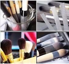 WDS 10 piezas pincel de maquillaje cubierta de malla guardias de la envoltura