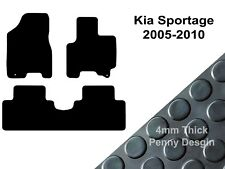 Tailored Car Mats GREY ANTHRACITE 16 on 3 x clips KIA SPORTAGE