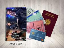 Porte cartes passeport permis - johnny hallyday 106