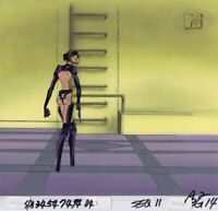 AEON FLUX Original Production Cel Cell Animation Art MTV Liquid TV 1990's Gun