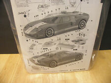 HPI FORD GT 1/10 RC Car Touring Body Clear 200MM 7495  TC3 R/C e10 rs4 nitro