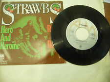 "STRAWBS"" HERO AND HEROINE- disco 45 giri AM Ger 1974"" NUOVO"