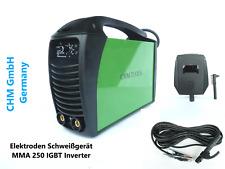CHM GmbH Schweißgerät MMA 250 E-Hand IGBT Inverter Elektroden Schweißegerät