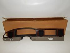 New OEM 2001-2002 Lincoln Town Car Front Dash Instrument Panel Cluster Trim Wood