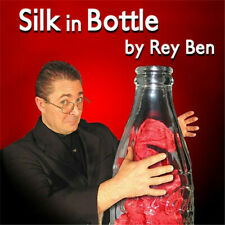 New Silk in Bottle by Rey Ben(Gimmick and Instruction)Close up Magic Trick Stage