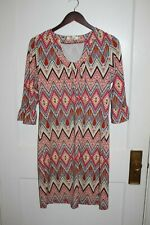 Aryeh dress Size Medium Shift Anthropologie 3/4 Sleeve  colorful print