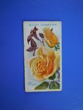 ORIGINAL CIGARETTE CARD: Wills - Roses - Lady Hillingdon No.53