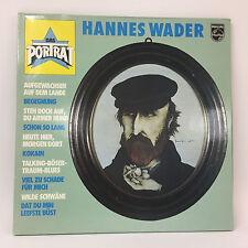 Hannes Wader - Das Porträt | Philips  | LP: Near Mint | Cleaned Vinyl LP