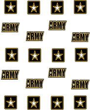 US Army  Waterslide Nail Decals/Nail Art