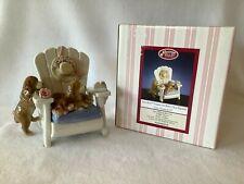 San Francisco Music Box Co. Puppies on Beach Chair Figurine