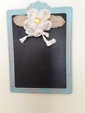 Chalkboard Flower Decor Shabby Chic Farmhouse