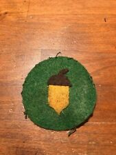 WWI US Army 87th Division patch wool