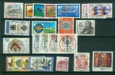 Berlin Jahrgang 1979 , gestempelt ,  Auswahl aus Michel Nr.  591 - 613