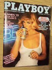 Playboy November 1977 Susan Kiger Billy Carter Bunnies 77