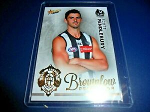 2020 AFL Select Footy Stars Brownlow Predictor BPG14 Scott Pendlebury #57/140
