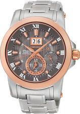 Seiko SNP114 SNP114P1 Mens Premier Kinetic Perpetual Calendar Watch RRP $1500.00