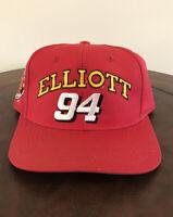 VINTAGE Bill Elliott 94 McDonald's Racing Team Snapback Hat - NASCAR...