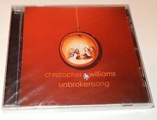 Unbroken Song Christopher Williams (CD, 2005) Christmas NEW SEALED