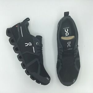 ON RUNNING CLOUD WATERPROOF BLACK LUNAR 19.99987 Size 8 - 12 BRAND NEW