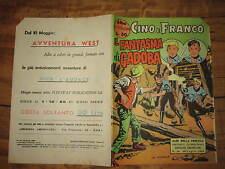 ALBI DELLA FRECCIA EDIZIONI AMERICANE N°14 CINO E FRANCO 20 LUGLIO 1962