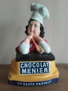 Plâtre Publicitaire  Chocolat menier