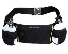Running Belt Waist Bag + 2 x Water Bottles For Marathon Holder for iPhones N98B