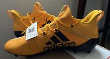Adidas Adizero Men's Football Cleats Eh1314 Size 13 Black / Yellow Rare