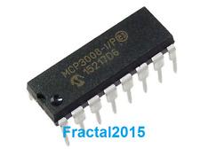 1Pcs MCP3008-I/P  Convertisseur analogique vers numérique, Octal, 16DIP