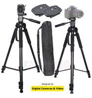 """72"""" Tripod Heavy Duty Full Size  For Photo & Video FOR Canon Nikon Sony Camera"""