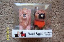 Kissing Puppies Salt & Pepper Set - NEW