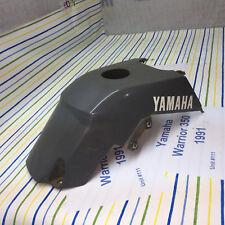 Yamaha Warrior 350 YFM fuel gas tank cover cowl grey panel body video #111