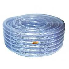 "5/16"" Dump-hose Powerflush 8mm Powerflushing Clear Braided Water Compressor Air"