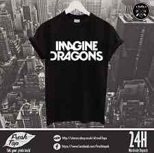 Imagine Dragons T Shirt Indie Rock Band Dan Reynolds Bastille New Album Concert