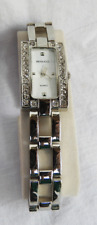 Steel and Crystal - Superb Condition Benucci Cocktail / Dress Watch - Stainless