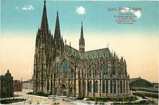 Postcard Germany Koln Dom Sudseite Cologne Cathedral