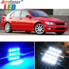 10 x Premium Blue LED Lights Interior Package Kit for 01-05 Lexus IS300 + Tool
