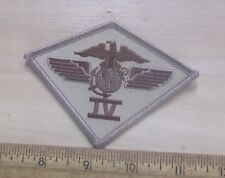 USMC 4th Marine Airwing Desert Embroidered Patch