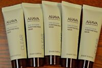 Lot Of 5 Ahava Time to Clear Purifying Mud Mask 20ml/.68oz Each IPSY Sealed!