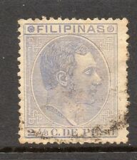 Philippines 1880s Classic Alfonso Used Value 2.4/8c. 182424