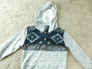 Women's Aztec print hoodie, Size L, New